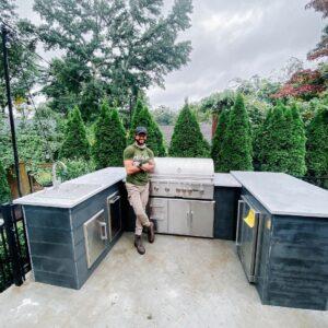 Brian Mazza's U Shape Outdoor Kitchen 3