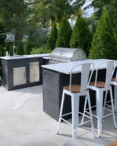 Brian Mazza's U Shape Outdoor Kitchen 1