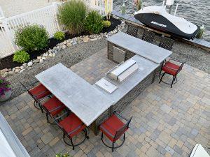 U Shape Outdoor Kitchen by Ocean 6